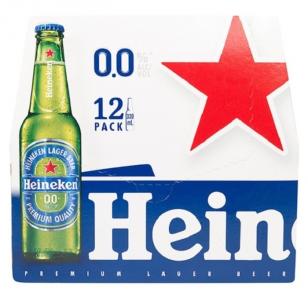 Heineken Lager 0% Alcohol 330ml x 12