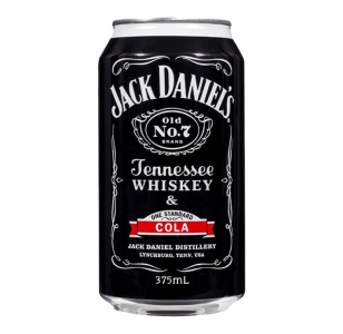 Jack Daniels & Cola 5% 8 Pack Cans