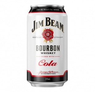 Jim Beam & Cola 4.8% 10 Cans