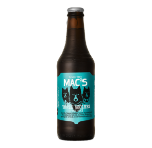 Mac's Three Wolves Pale Ale 12 Pack