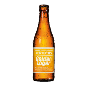 Monteiths Golden Lager 12 Pack