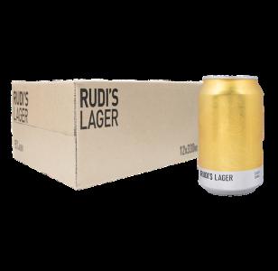 RUDI'S LAGER 12X 330ML 5% ABV