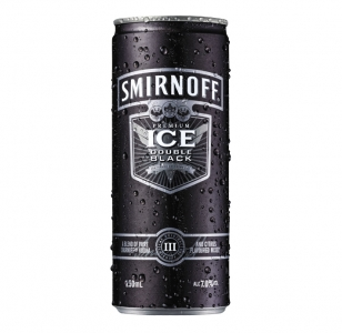 Smirnoff Double Black 7% 12 Cans