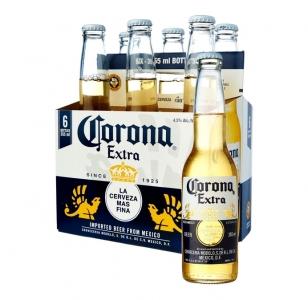 Corona 6 Pack bottles
