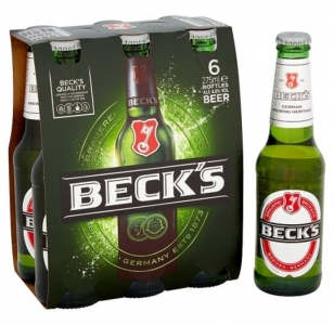 Becks 6 Pack Bottles