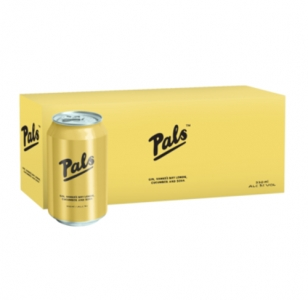 Pals – Gin, Hawke's Bay Lemon, Cucumber & Soda 10 Pack