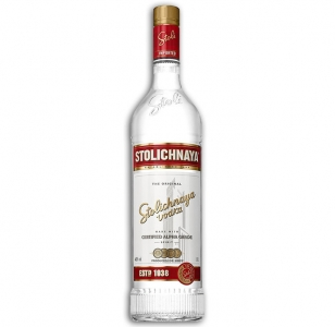Stolichnaya Premium Russian Vodka 1Ltr