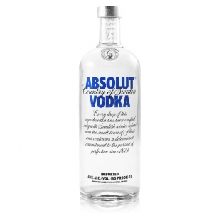 Absolut Vodka 1 Ltr