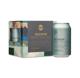 SAWMILL Session Ale 330ml (4 pack)