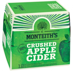 Monteiths Crushed Apple Cider 12 Pack