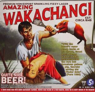 Wakachangi Lager 12 Pack