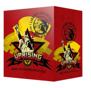Liberty Uprising Pale Ale 6 Pack Bottles
