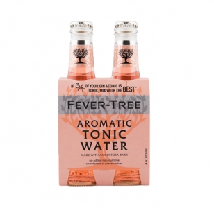 Fever Tree Aromatic Tonic Water 200ml 4pack