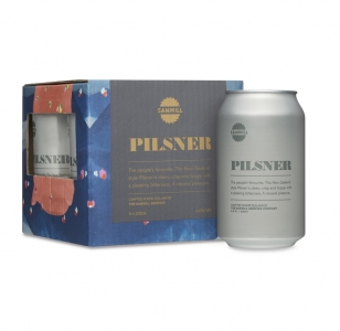 SAWMILL Pilsner Cans 330ml (4 pack)