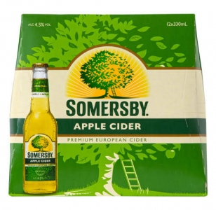 Somersby Apple Cider 12 Pack Bottles 330ml