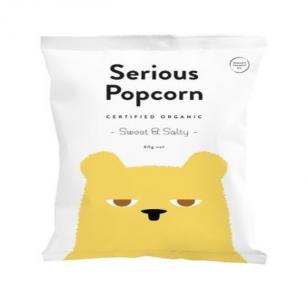 Serious Popcorn Sweet & Salty Organic  (80g)